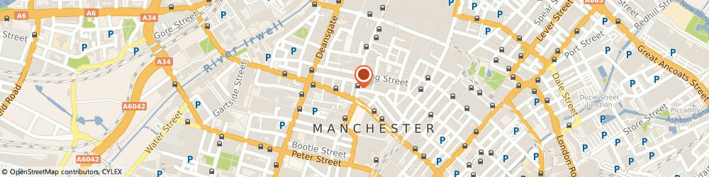 Route/map/directions to THE CO-OPERATIVE BANK, M2 4JG Manchester, 70/72 Cross Street