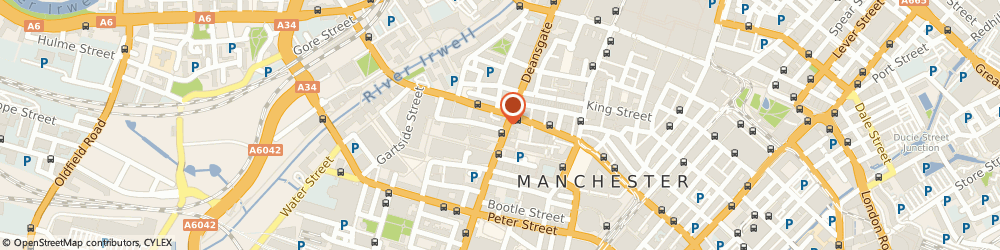 Route/map/directions to The Lost Dene, M3 3EE Manchester, 144 Deansgate