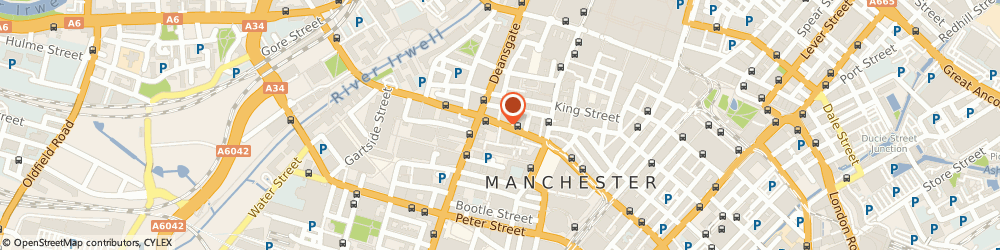 Route/map/directions to Advanced Photo, M2 6FW Manchester, 25 John Dalton Street