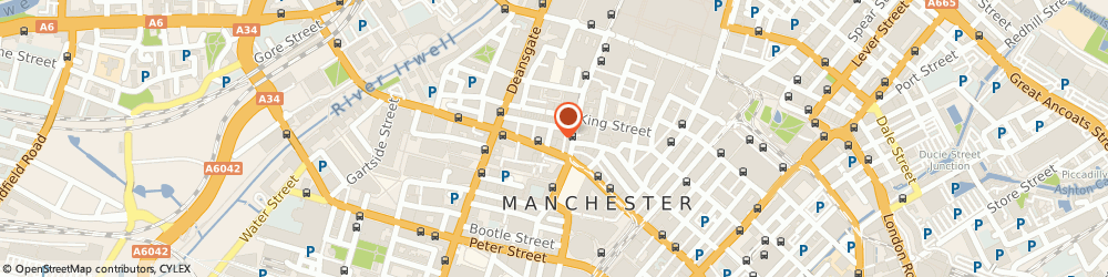 Route/map/directions to Ascent Funding Limited, M2 6XX Manchester, 7 ST JAMES SQUARE