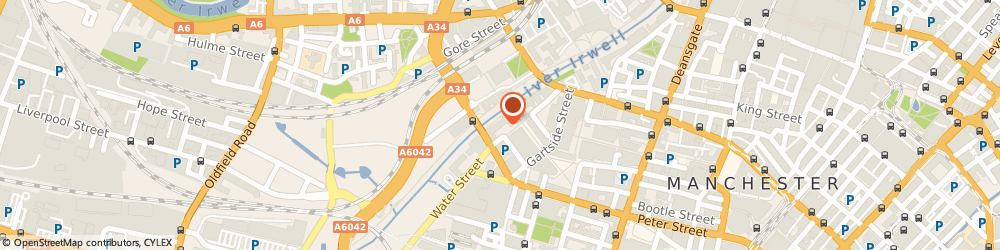Route/map/directions to Zizzi Restaurants Manchester, M3 3AN Manchester, Left Bank, Spinningfields, Irwell Square