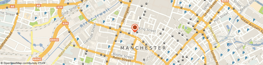 Route/map/directions to Boote Edgar Esterkin, M2 6XX Manchester, 7 St. James Square