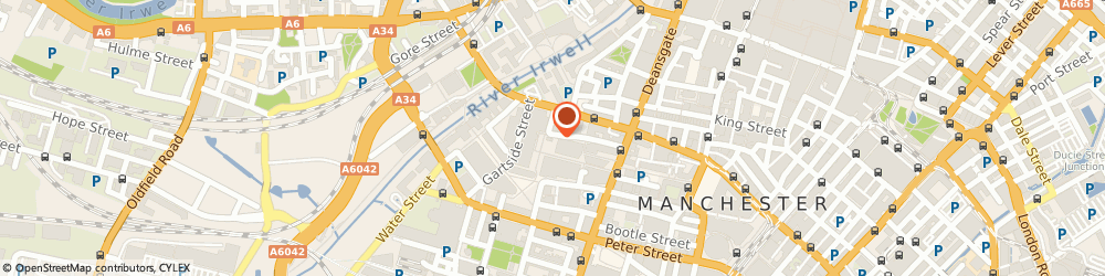 Route/map/directions to The Oast House, M3 3AY Manchester, The Avenue Courtyard