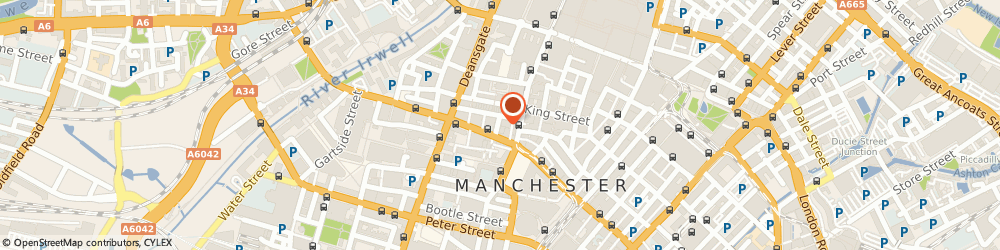 Route/map/directions to DestinationSkin, M2 6DN Manchester, 7 St James Square