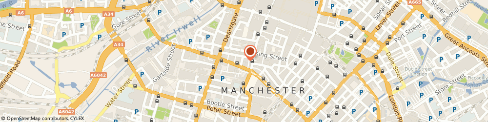 Route/map/directions to Fruhman Davies Livingstones Solrs, M2 6DN Manchester, One St. James'S Square