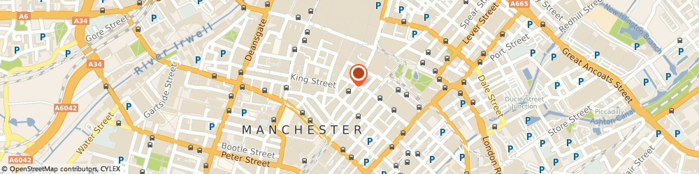 Route/map/directions to Guardian Insurance, M60 8BP Manchester, 42-44 FOUNTAIN STREET, GUARDIAN ROYAL EXCHANGE HOU