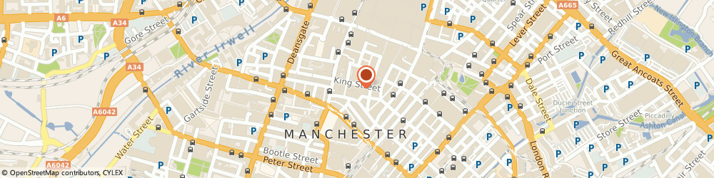 Route/map/directions to Pizza Express, M2 4WQ Manchester, Ground Floor and Basement, 84-86 King Street