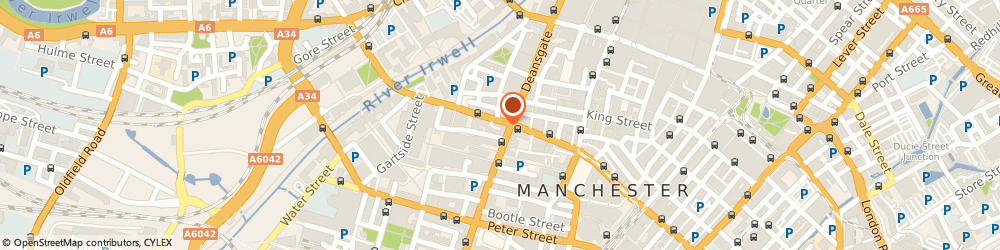 Route/map/directions to Nails Icon, M3 2RJ Manchester, 76 Bridge St