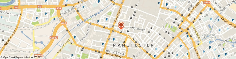 Route/map/directions to Harvey & Co (Quantity Surveyors) Limited, M2 6EG Manchester, 5, Ridgefield