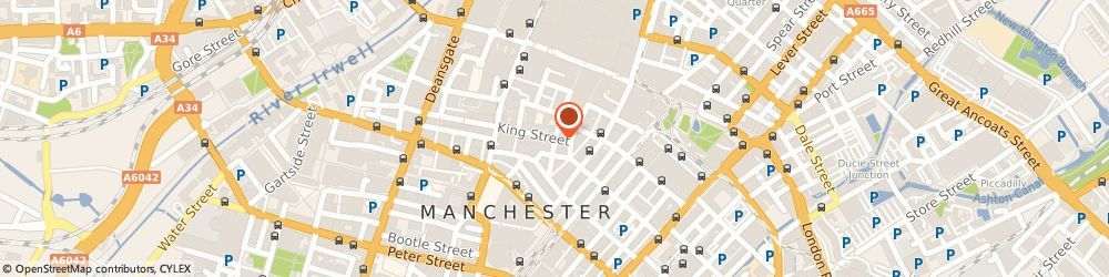 Route/map/directions to Solus Investment Funds Ltd, M2 6AW Manchester, 1 KING STREET