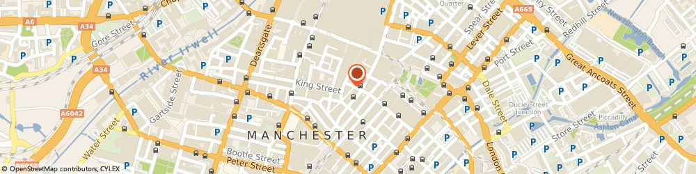 Route/map/directions to 23 Essex Street Chambers Manchester, M2 2BG Manchester, 41 Spring Gardens