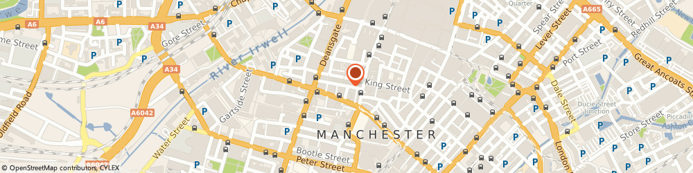 Route/map/directions to J D Dickinson, M2 6DE Manchester, 58 South King Street