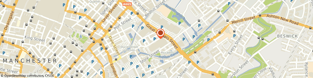 Route/map/directions to Pickups Electrical Ltd Manchester, M1 2JQ Manchester, 51-53, Ducie St