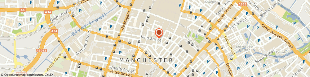 Route/map/directions to Marplace (Number 771) Limited, M2 4LQ Manchester, 5TH FLOOR 55, KING STREET