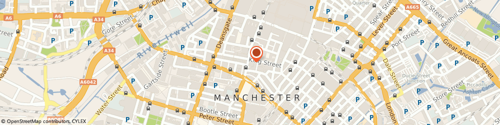 Route/map/directions to Diesel (London) Ltd, M2 4NJ Manchester, Unit L 74 King Street