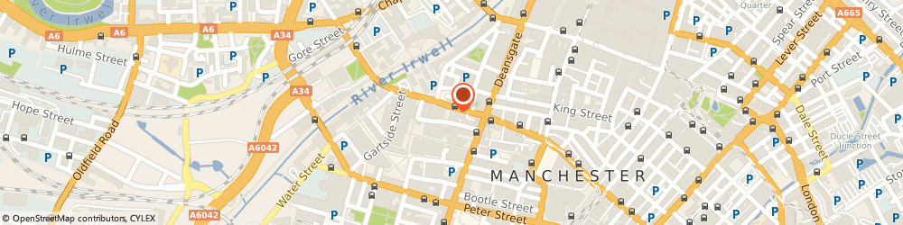 Route/map/directions to ACUSPA LTD, M3 3BW Manchester, 50 Bridge Street