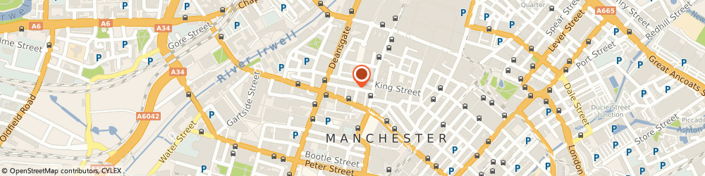 Route/map/directions to Local Removal Services, M2 4ST Manchester, King Street