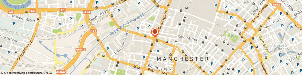 Route/map/directions to North West Arts Board, M3 3AB Manchester, MANCHESTER HOUSE, 22 BRIDGE STREET