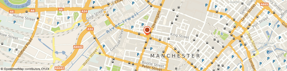 Route/map/directions to FORTHPLUS PENSIONS LIMITED, M3 3BA Manchester, HOLLINS CHAMBERS, 64A BRIDGE STREET
