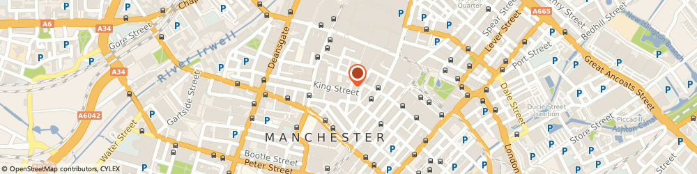 Route/map/directions to All Eco Energy, M2 4NG Manchester, 73 King Street