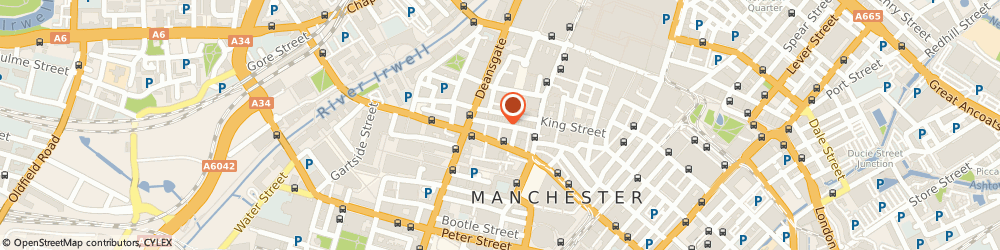 Route/map/directions to C Rankin, M2 6DE Manchester, 58 SOUTH KING STREET