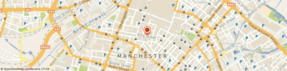 Route/map/directions to Bridgepoint Capital, M2 4WQ Manchester, 82 KING ST, 2