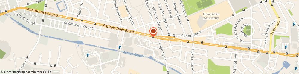 Route/map/directions to Golden Dragon, M11 4PE Manchester, 1058 Ashton New Road