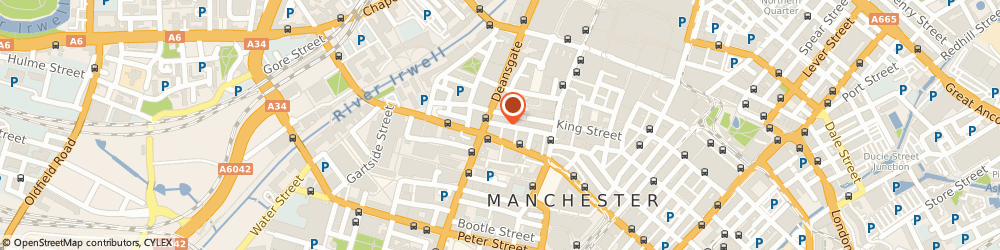 Route/map/directions to Henry Cooke Corporate Finance Ltd, M2 6AW Manchester, 1 KING STREET