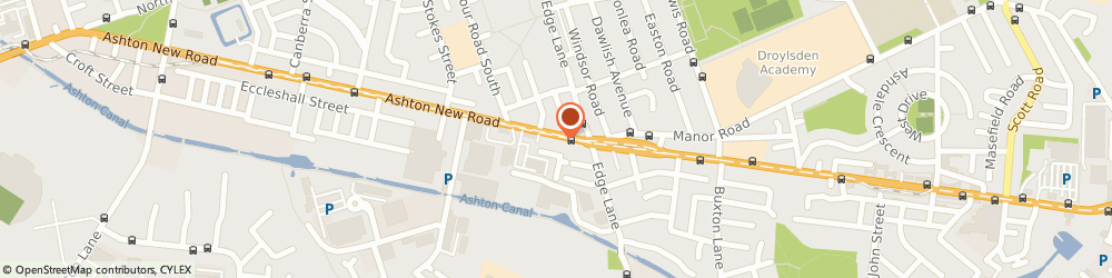 Route/map/directions to L.a Nails, M11 4PE Manchester, 1050 Ashton New Rd