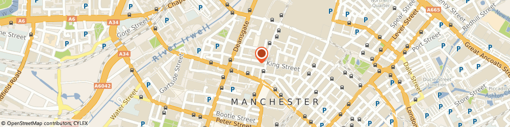 Route/map/directions to S Dodd, M2 6DE Manchester, KINGSGATE, 58 SOUTH KING STREET