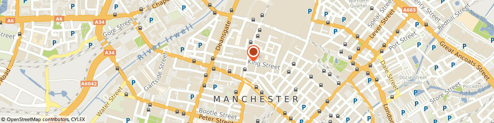 Route/map/directions to Savoy Taylors Guild, M2 6AG Manchester, 16 King St