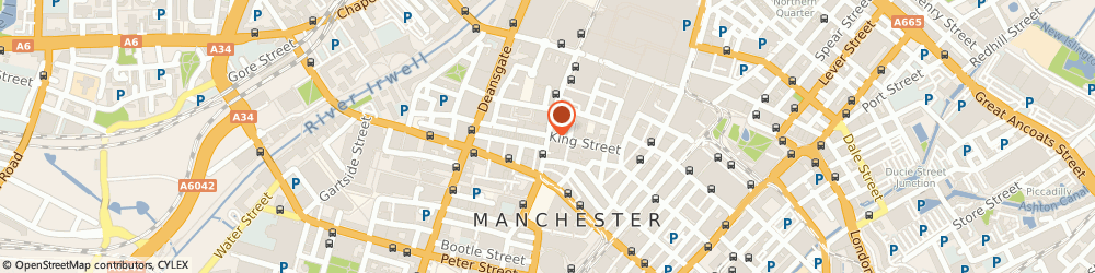 Route/map/directions to Farooq T Ahmed, M2 6AQ Manchester, 8 King Street