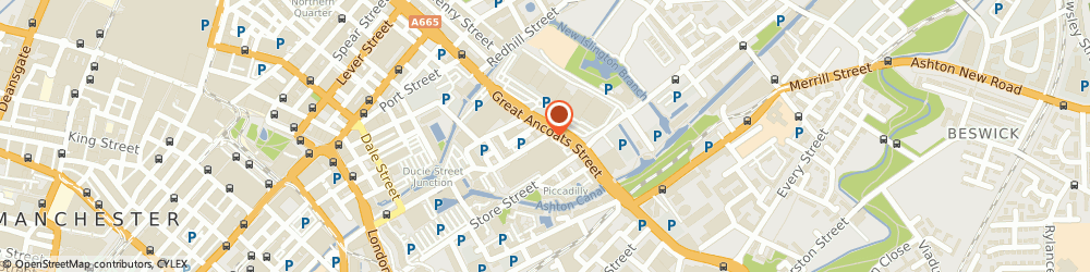 Route/map/directions to CORPORATE SR CIC, M4 6DE Manchester, ADVANTAGE BUSINESS CENTRE, 132-134 GREAT ANCOATS STREET