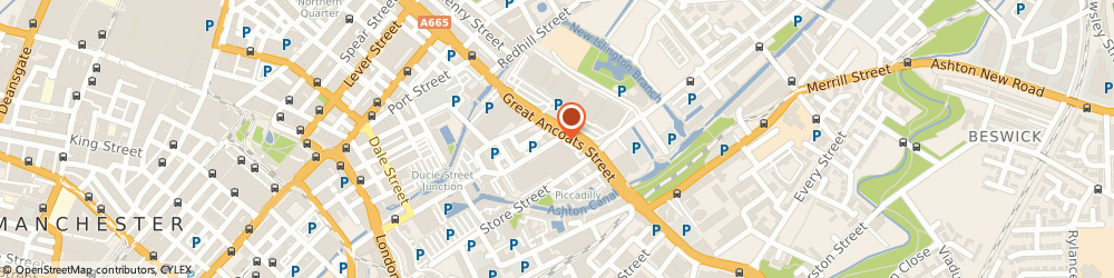 Route/map/directions to Owl Live, M4 6DE Manchester, Advantage Business Centre, 132-134 Great Ancoats Street