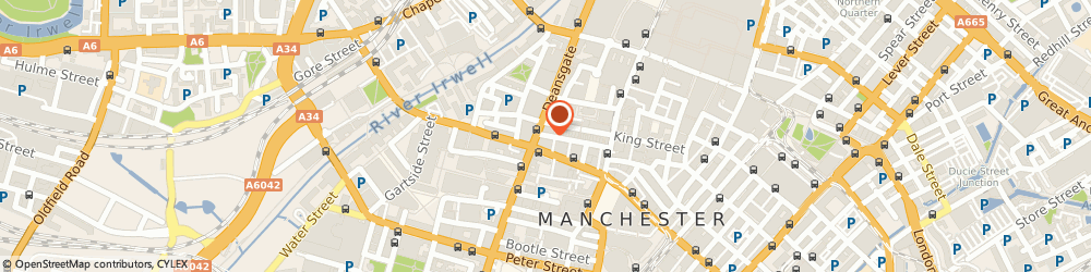 Route/map/directions to Whitewall Galleries Manchester, M3 2BQ Manchester, 2 King Street