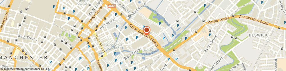 Route/map/directions to Inspired Security Solutions, M4 6DE Manchester, 132-134 Great Ancoats St