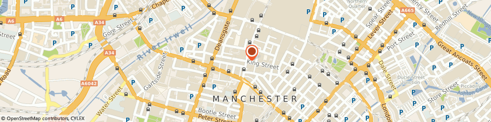 Route/map/directions to Crombie, M2 6AW Manchester, 19-21, King Street