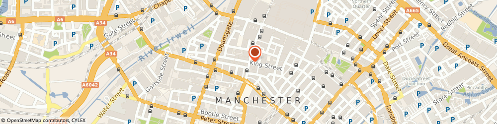 Route/map/directions to Ryden, M2 6AY Manchester, 28, King St, 2nd floor