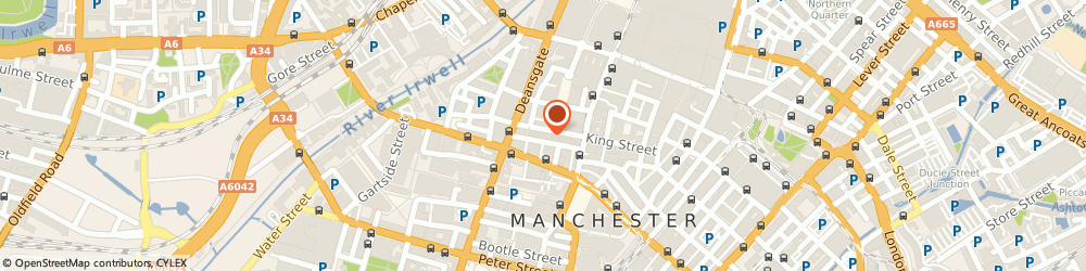 Route/map/directions to Planet Shop,the, M2 6AZ Manchester, 34-36 King Street