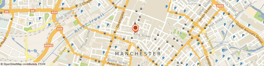 Route/map/directions to Pall Mall Medical, M2 4PD Manchester, 61 King Street