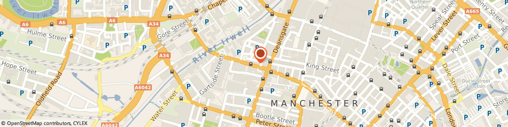 Route/map/directions to The One Thai Massage, M3 2RH Manchester, 75 Bridge St