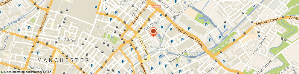Route/map/directions to G Star (Uk) Ltd, M1 2EJ Manchester, 57 HILTON STREET