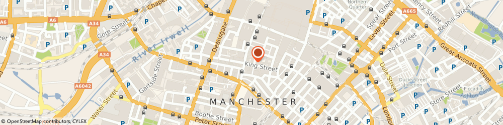 Route/map/directions to Zizzi, M2 4LQ Manchester, 53 King Street