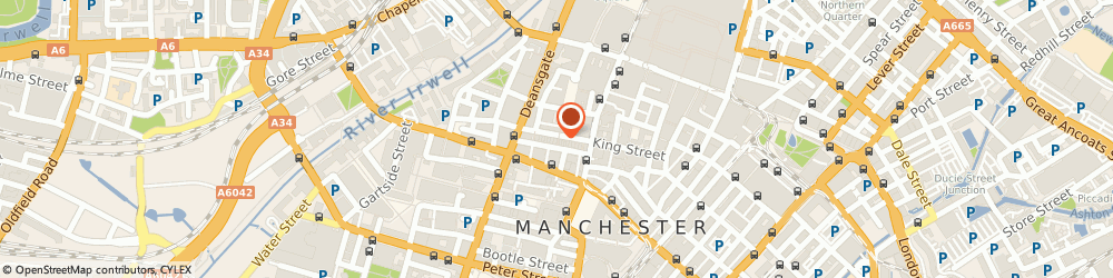 Route/map/directions to Ollier Smurthwaite Architects, M2 6BA Manchester, 40 King Street