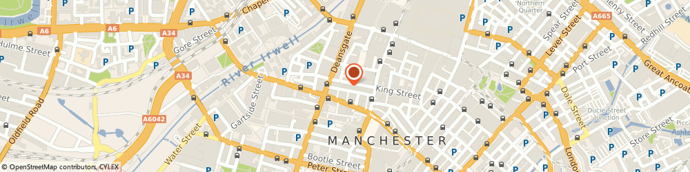 Route/map/directions to Edwards & Co, M2 6AY Manchester, 26 King Street