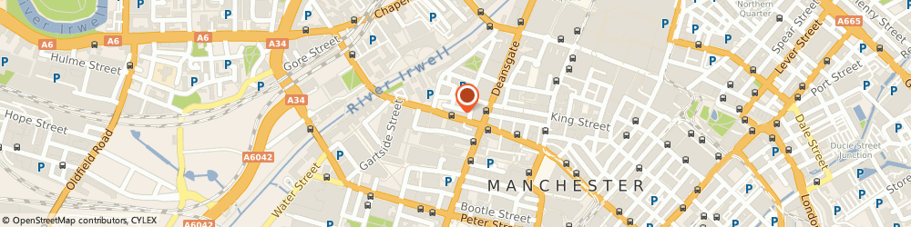 Route/map/directions to Granada Dry Cleaners Ltd, M3 2RH Manchester, 71-73 Bridge St