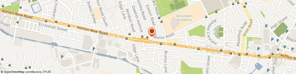 Route/map/directions to Moira's, M43 6JD Manchester, 244 Manor Road