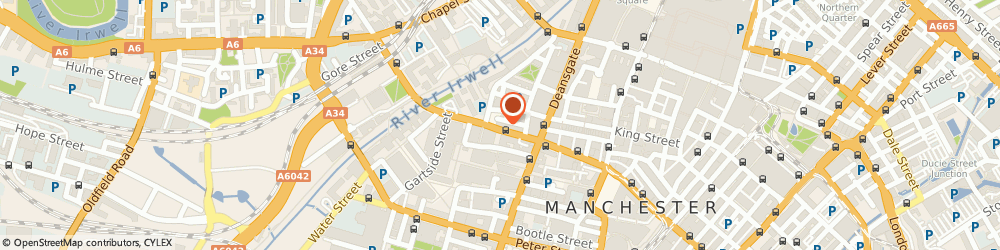 Route/map/directions to Dennyhairdressing.Com, M3 3BQ Manchester, 61 Bridge St