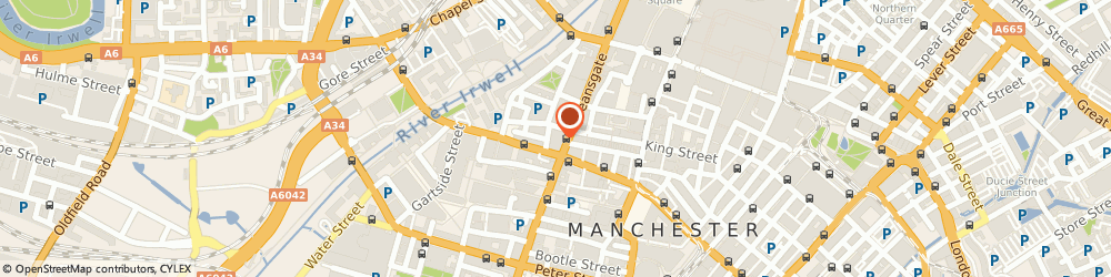 Route/map/directions to Forsyth, M3 2GR Manchester, 126, Deansgate