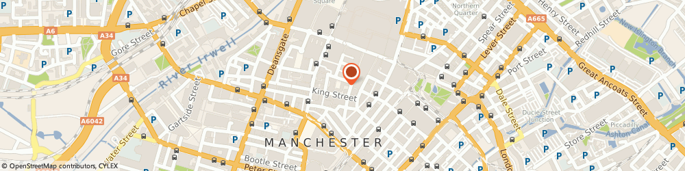Route/map/directions to Munster construction ltd, M2 4PD Manchester, Paul mall court, 61-67 king street